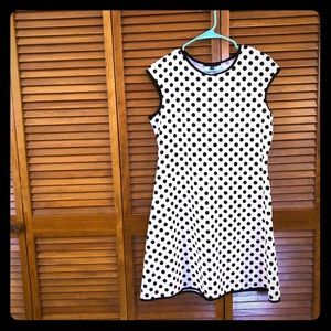 Polka dot a line dress 👗